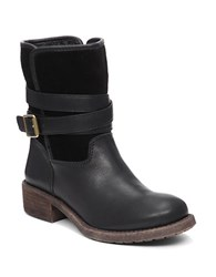 Lucky Brand Declann Sherpa Lined Boots Black