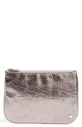 Stephanie Johnson 'Tinseltown Gunmetal' Large Flat Pouch