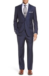 Peter Millar Men's 'Flynn' Classic Fit Stripe Wool And Cashmere Suit