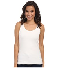 Nic Zoe Perfect Tank Paper White Women's Sleeveless