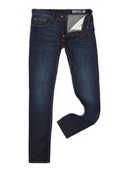 Duck And Cover Men's Rannu Jeans Mid Blue