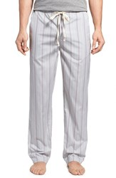 Men's Paul Smith Stripe Cotton Lounge Pants Grey