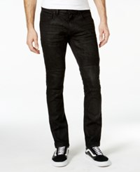 Inc International Concepts Hakeem Black Wash Skinny Jeans Only At Macy's