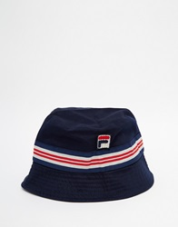 Fila Vintage Bucket Hat Blue