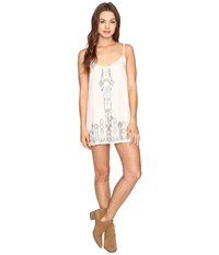 Billabong Shine On Dress White Cap Women's Dress Blue