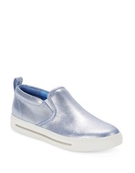 Marc By Marc Jacobs Sparkling Slip On Sneakers Blue
