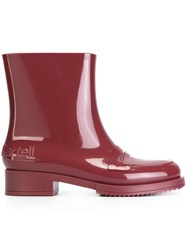 N 21 No21 'Kartell' Boots Pink Purple