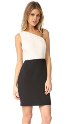 Elizabeth And James Marie One Shoulder Dress Black Ivory