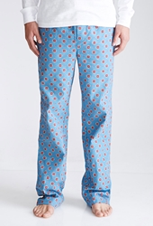 Forever 21 Geo Print Flannel Pajama Pants