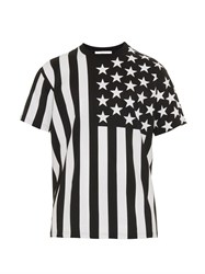 Givenchy Columbian Fit American Flag Print T Shirt