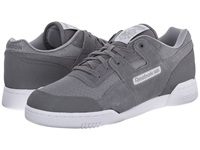 Reebok Workout Plus Reflect Shark Flat Grey White Men's Shoes Gray