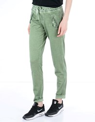 Deha Trousers Casual Trousers Women Green