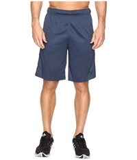 Adidas Essential 3S Shorts Mineral Blue Bold Orange Men's Shorts Navy