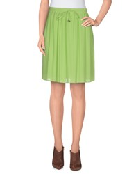 Alysi Skirts Knee Length Skirts Women Light Green