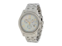 Citizen Fb1360 54D Eco Drive Aml Chronograph Watch Silver Tone Stainless Steel Watches Bronze