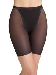 Spanx Haute Contour Sexy Sheer Mid Thigh Shaper Blush Pitch