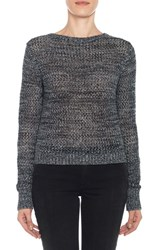 Joe's Jeans Women's 'Reed' Crochet Cotton Sweater Onyx Multi
