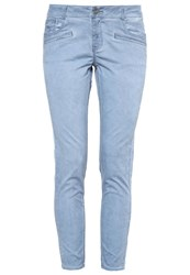 S.Oliver Trousers Dusty Blue