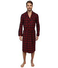 Pendleton Lounge Robe Robertson Red Tartan Men's Robe