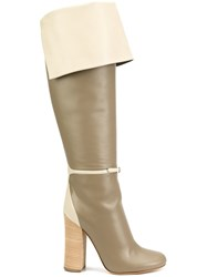 Derek Lam 'Greta' Over The Knee Boots Grey
