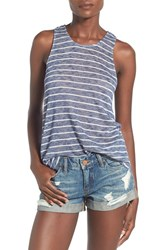 Women's Soprano Stripe Swing Tank