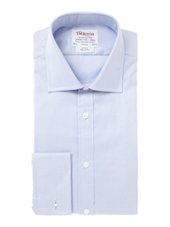 T.M.Lewin Luxury Oxford Regular Fit Shirt Blue