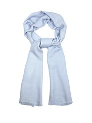 Denis Colomb Kasumi Cashmere Scarf Light Blue