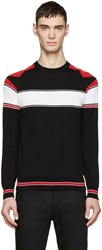 Givenchy Tricolor Knit Star Sweater