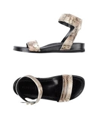 Rebeca Sanver Sandals Beige