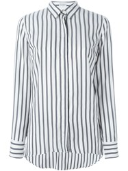 Brunello Cucinelli Striped Shirt White