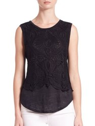 Generation Love Nori Lace Overlay Tank Top