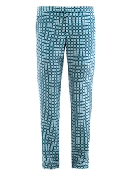 Richard Nicoll Geometric Print Trousers