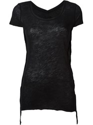 Thom Krom Basic T Shirt Black