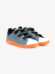 Raf Simons X Adidas Stan Smith Sneakers Blue Black White Orange Off White