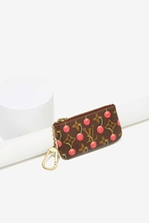 Nasty Gal Vintage Louis Vuitton Cherries Leather Coin Purse