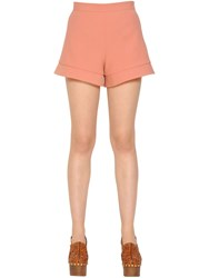 Red Valentino High Waisted Cady Shorts