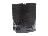 Love Moschino Ankle Moon Boot Black Women's Boots