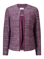 Eastex Two Tone Knitted Jacket Multi Coloured