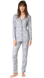 Love Grace Jungle Pj Set Black