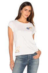 Mother Boxy Goodie Goodie Tee White