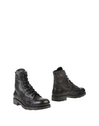 O.X.S. Ankle Boots Steel Grey