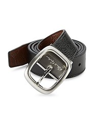Robert Graham Faux Leather Belt Black