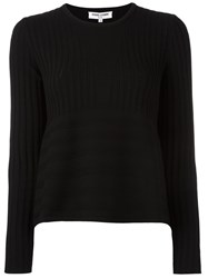Opening Ceremony Crew Neck Jumper Black