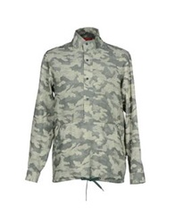 Red Collar Project Shirts Military Green