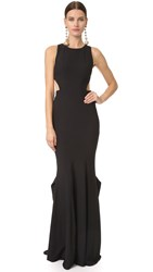 Zac Posen Cassie Gown Black