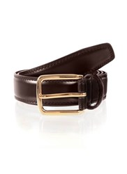 Dents Mens Belt Brown