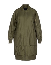 Kai Aakmann Coats Military Green