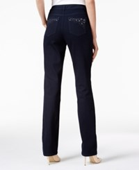 Charter Club Lexington Straight Leg Jeans Only At Macy's Rinse Wash