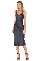 Kes Bias Slip Dress Blue