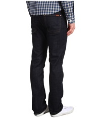 7 For All Mankind Standard Straight Leg In Dark And Clean Dark And Clean Men's Jeans Black